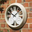 Smart Garden Exeter Clock & Thermometer, White
