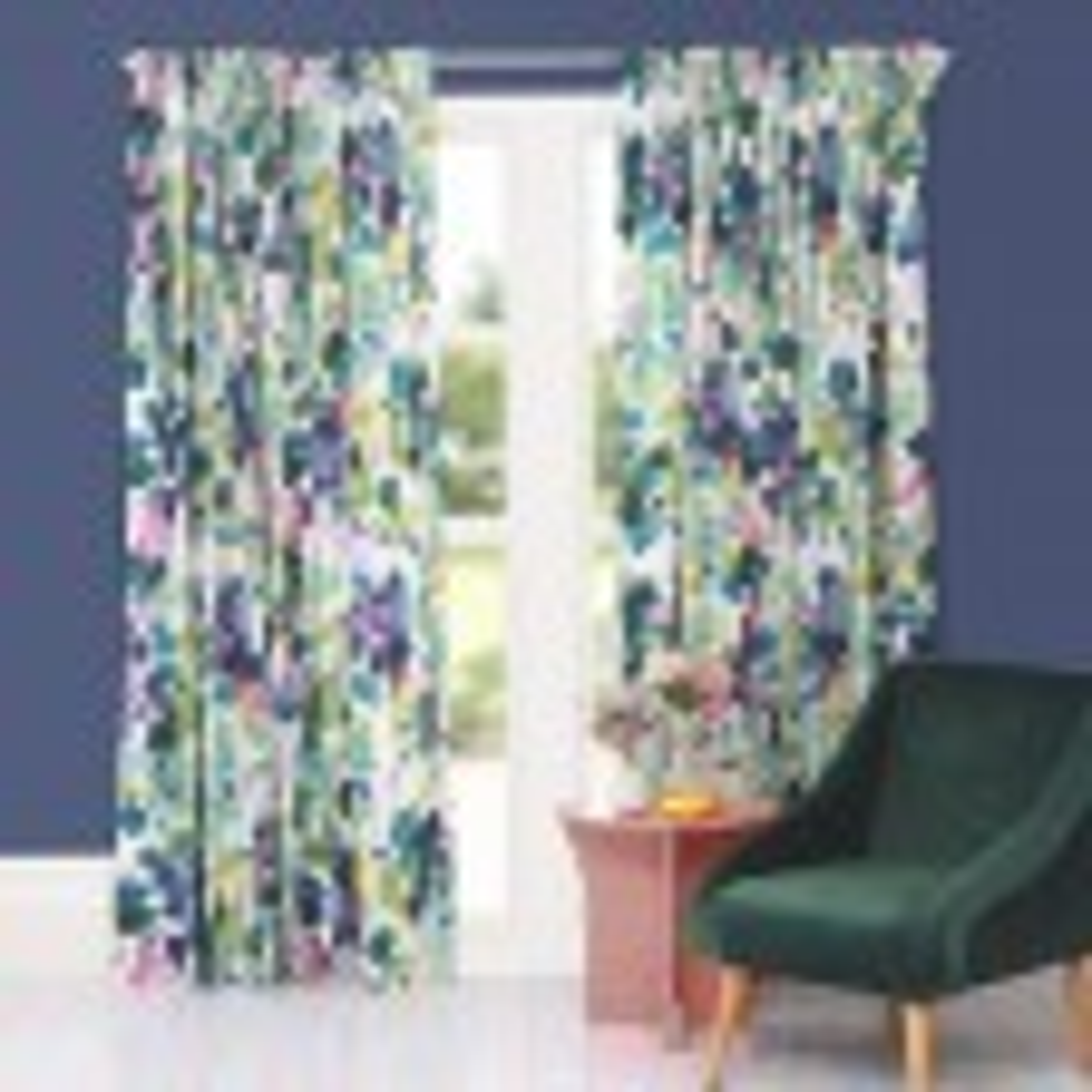 Bluebellgray Palette Curtains 167x182cm, Multi