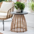 Garden Trading Hampstead Side Table, All-weather Bamboo