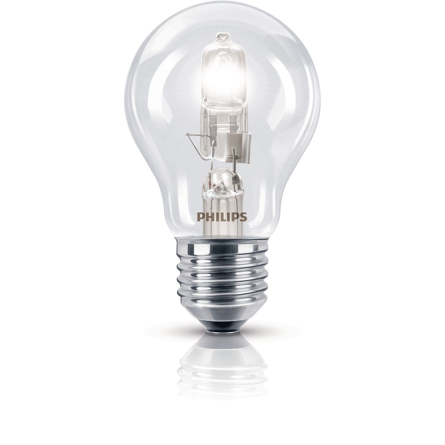 Philips Ecoclassic Halogen 42w E27 Bulb 240v, Warm White