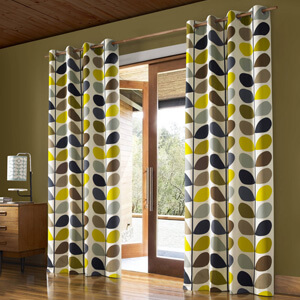 Orla Kiely Ready Made Curtains