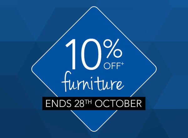 10% Off Furniture - Ends Soon