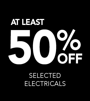 At least 50% Off Selected Electricals