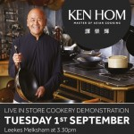Ken Hom LIVE Cookery Demonstration