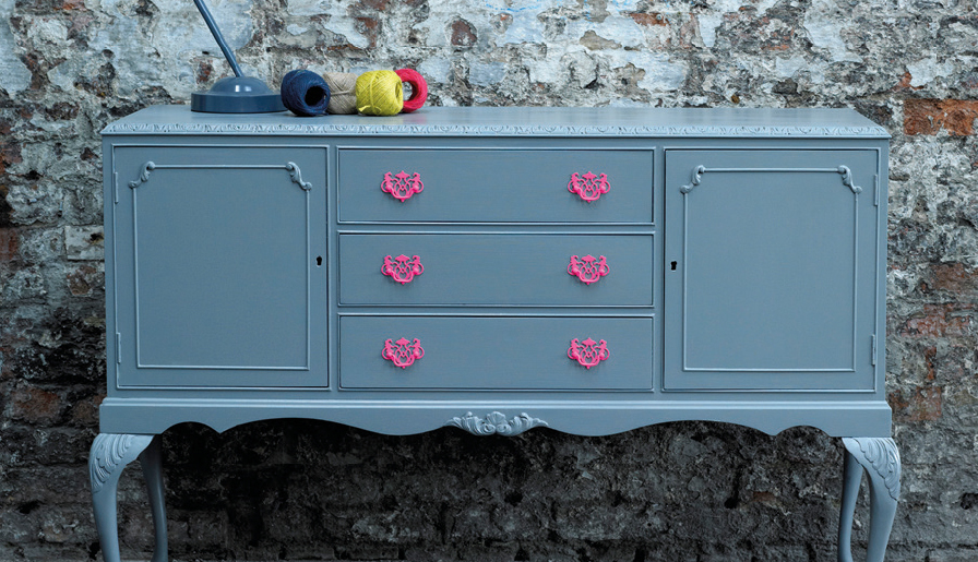 DIY Style: Freshen up your furniture with a chalky finish
