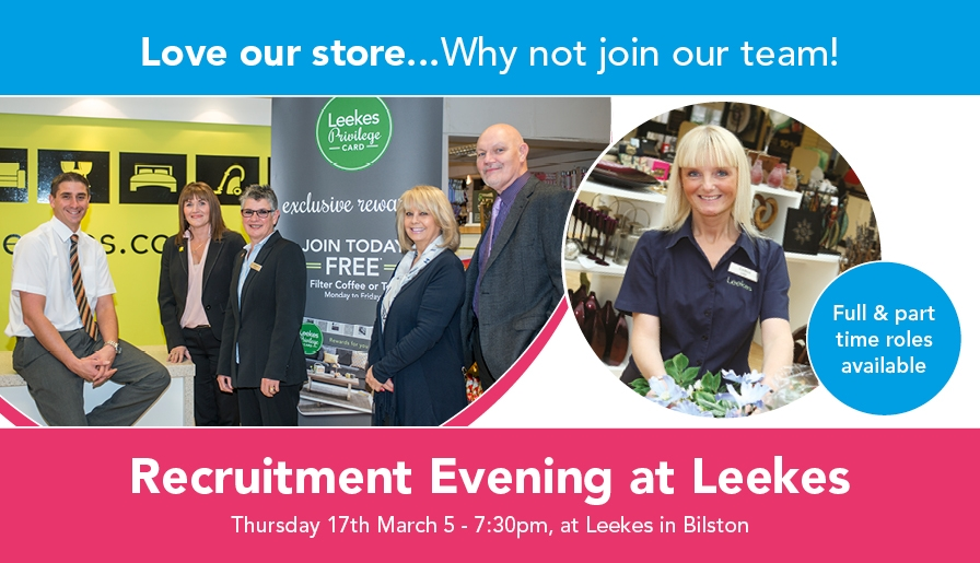 Recruitment Evening at Leekes Bilston