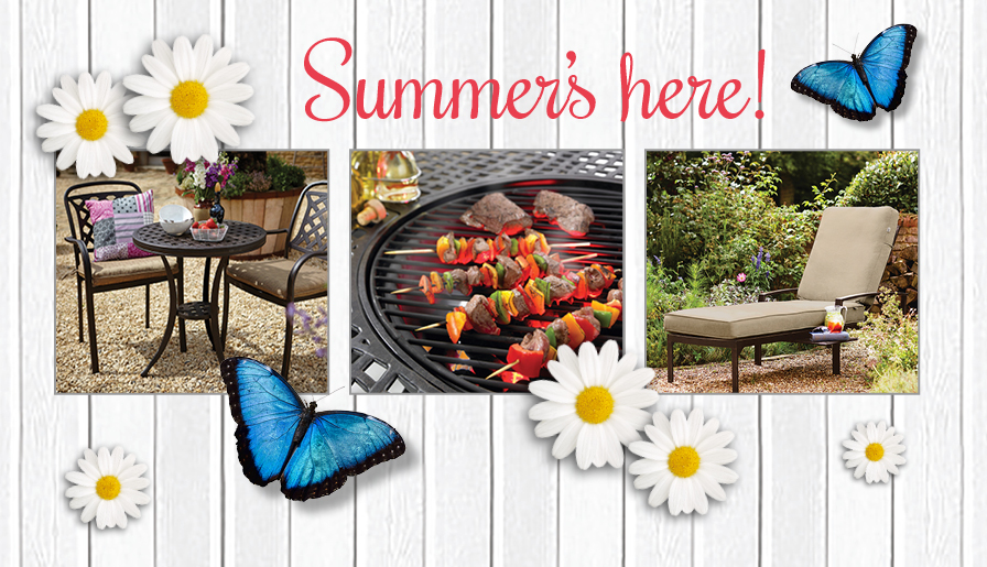 Top tips for buying garden furniture this summer