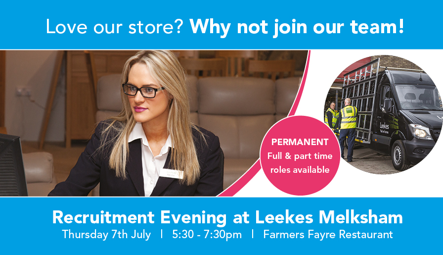 Recruitment Evening at Leekes Melksham