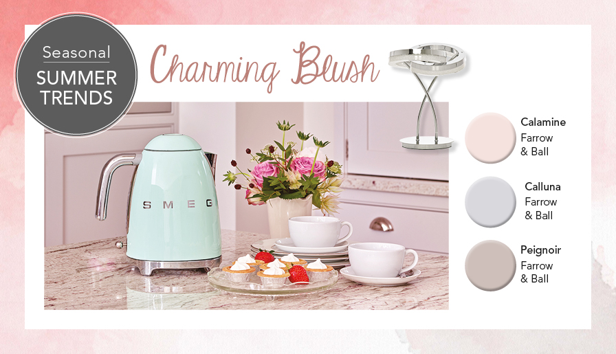 Charming blush to redefine & energise