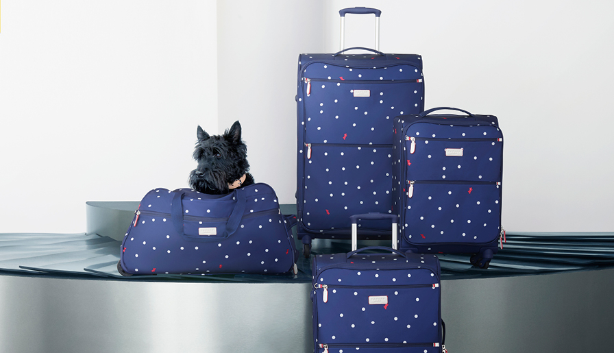 Get set for summer with luggage from Leekes