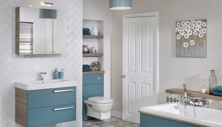 Be bold in your bathroom