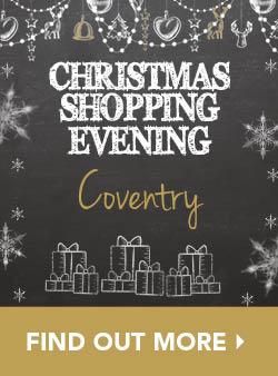 Christmas Shopping Evening Coventry