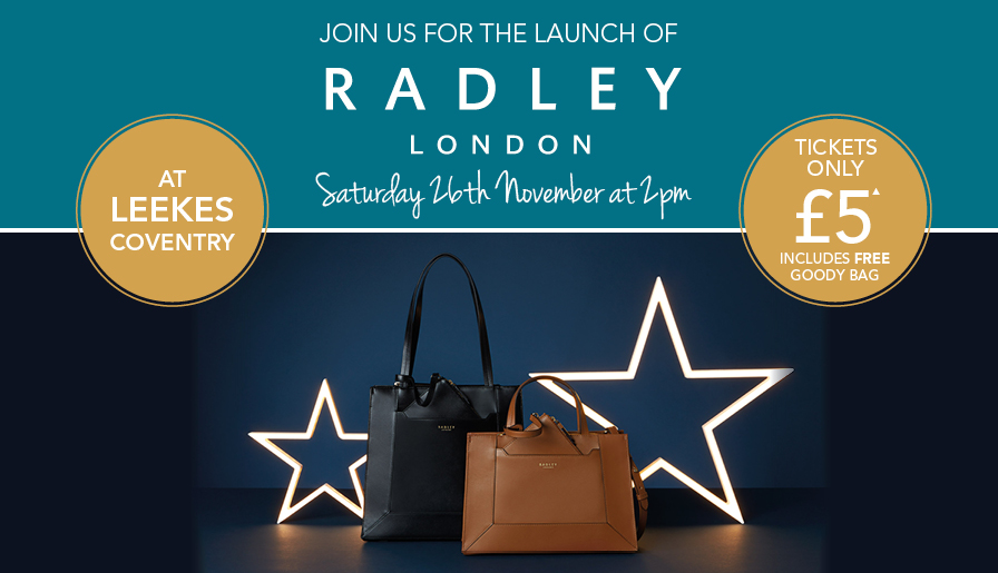 Radley London Launches at Leekes Coventry