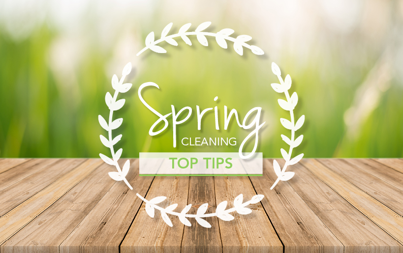 Spring Cleaning Top Tips