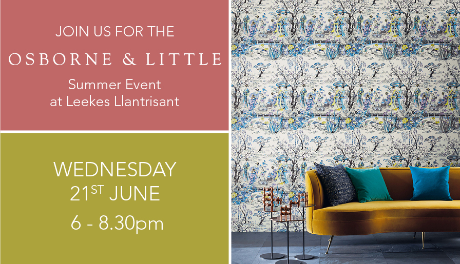 Osborne & Little Summer Event at Leekes Llantrisant