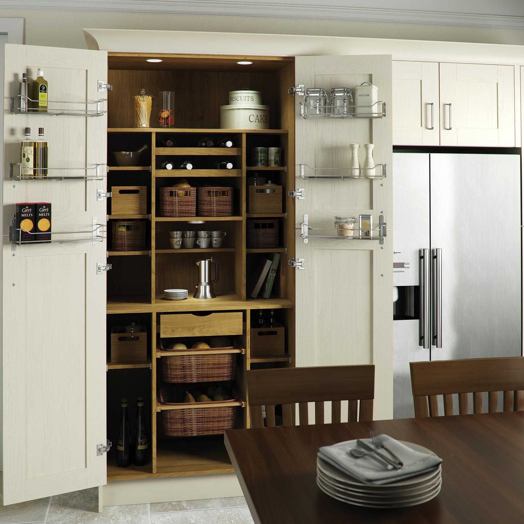 Clever Kitchen Ideas Make The Most Of Your Space Leekes Blog