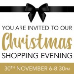 Christmas Shopping Evening