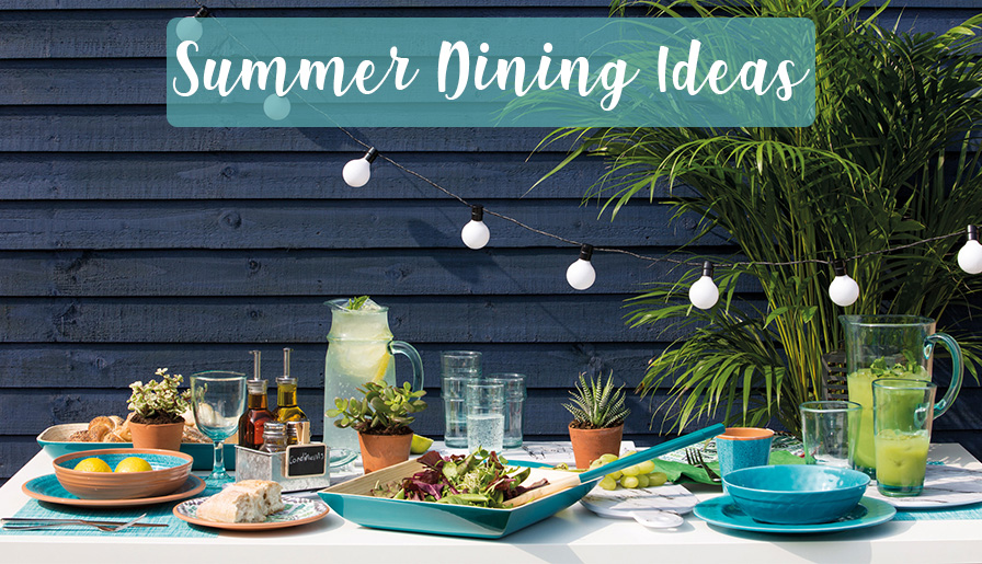 Summer Dining - Ideas and Solutions