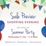 Summer Party Sale Preview