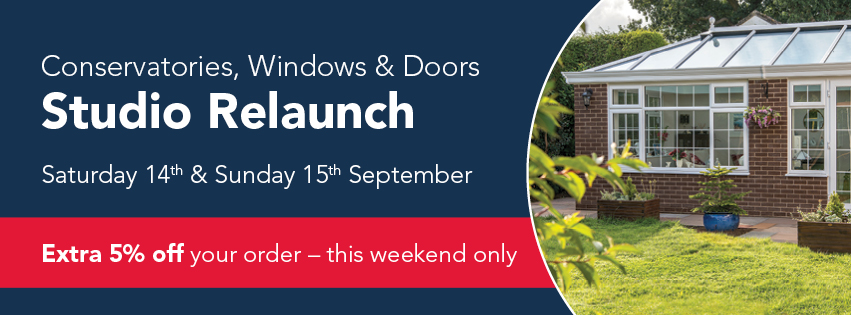 Join us at our Melksham Conservatories, Windows and Doors Studio Relaunch
