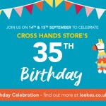 Cross Hands' 35th Birthday Event 14th & 15th September